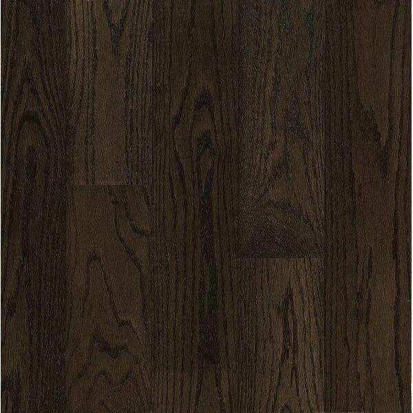 Turlington Signature Series 5 Engineered Northern Red Oak Hardwood Flooring in Espresso by Bruce Flooring