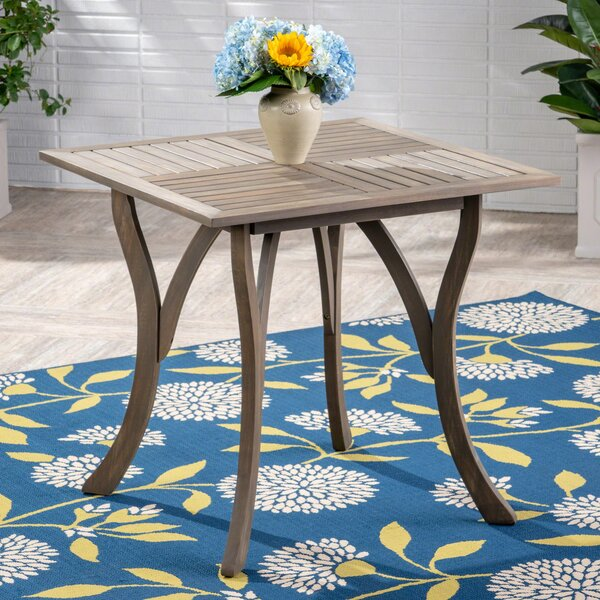 Hochstetler Wooden Dining Table by Bungalow Rose