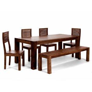 Essgruppe Palison mit 4 Stühlen und einer Bank ..