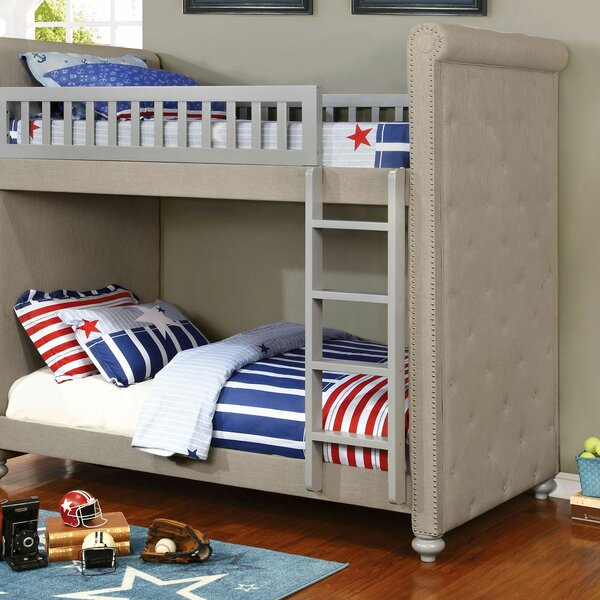 Boatwright Ropa Twin Over Twin Bunk Bed by Harriet Bee