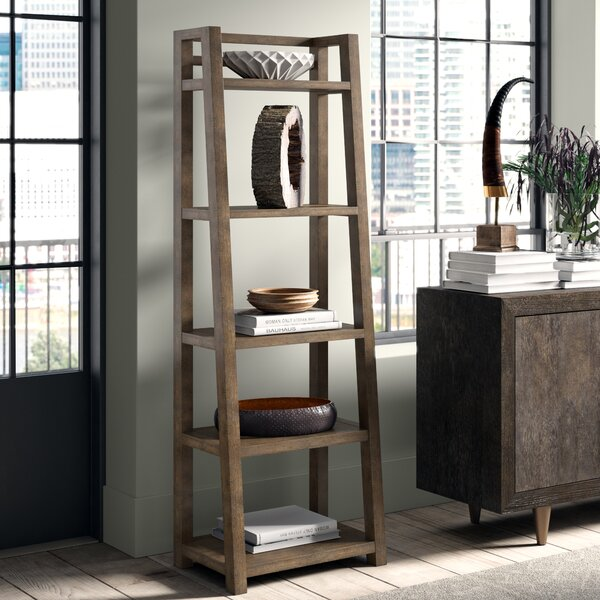 Perspectives Leaning Ladder Bookcase by Greyleigh
