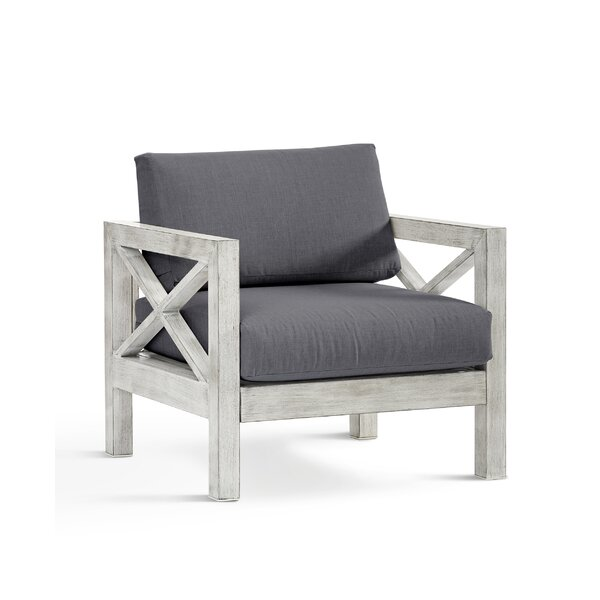 Parkdale Patio Chair with Sunbrella Cushions by Greyleigh Greyleigh