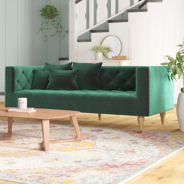 The Most Stylish And Classic St. Charles Sofa by Mistana by Mistana