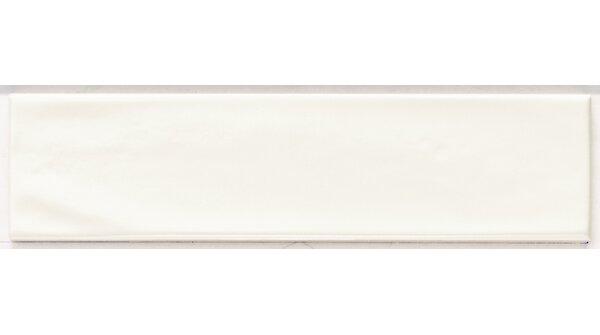 Mason 3 x 12 Ceramic Subway Tile in Matte White by Walkon Tile