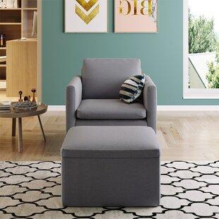 Jodyann 4 Piece Configurable Living Room Set by Latitude Run®