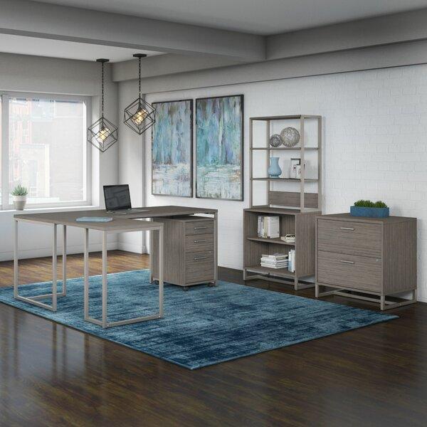 Deloit 6 Piece Office Set with Hutch