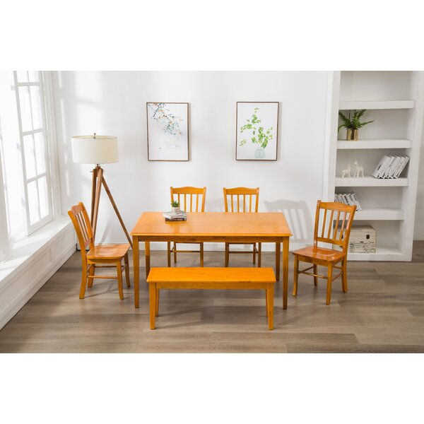 Weldy 6 Piece Dining Set by Red Barrel Studio Red Barrel Studio