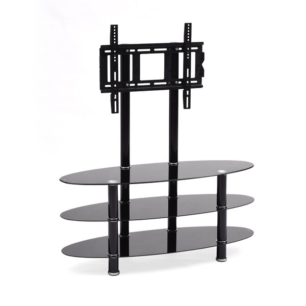 Hodedah 43 Glass TV Stand by Hodedah