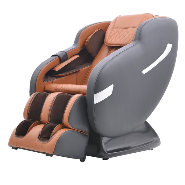 Reclining Heated Full Body Massage Chair By Latitude Run