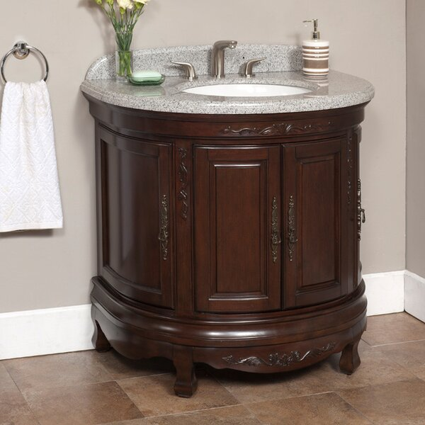 Moon 35 Single Bathroom Vanity Set by Lanza