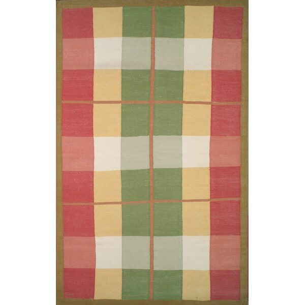 Cottage Kilim Plaid Morning Rug by American Home Rug Co.