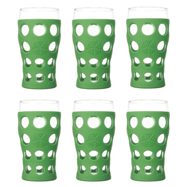 Everyday 20 oz. Juice Glass (Set of 6) by Lifefactory
