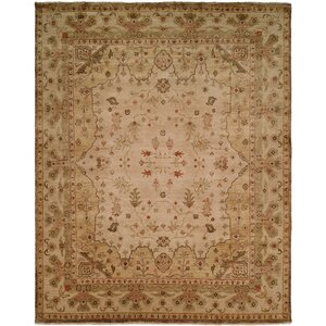 Melbourne Hand-Knotted Beige Area Rug