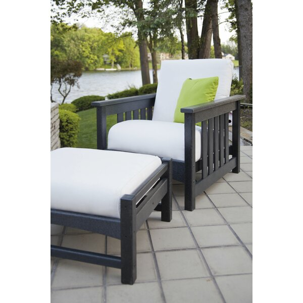 Mission Patio Chair with Cushions by POLYWOOD POLYWOOD®