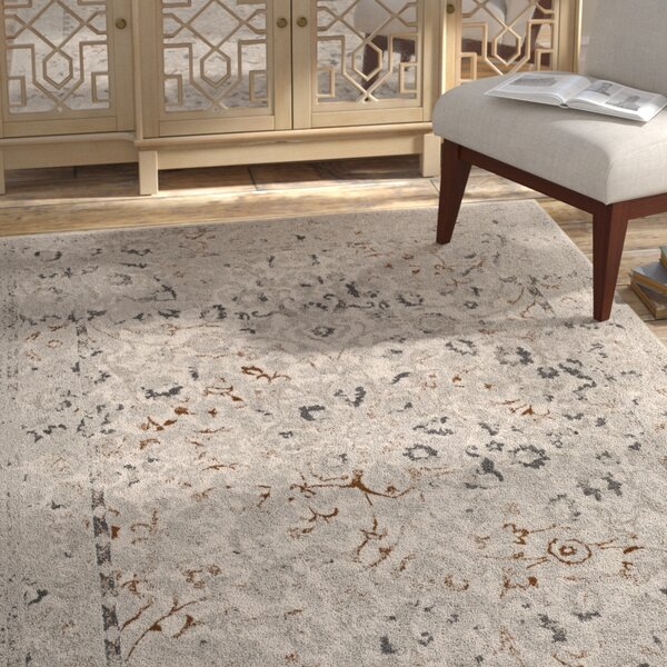 Samantha Cream Area Rug by Bungalow Rose