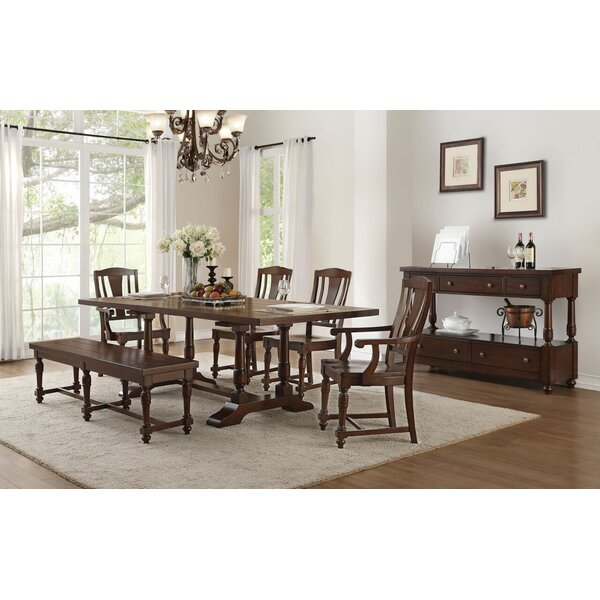 Rankins 6 Pieces Extendable Dining Set by Canora Grey