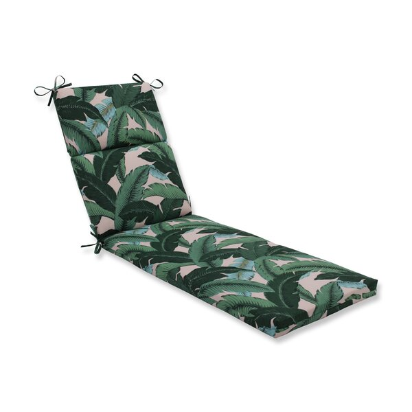Swaying Palms Indoor/Outdoor Chaise Lounge Cushion by Bay Isle Home