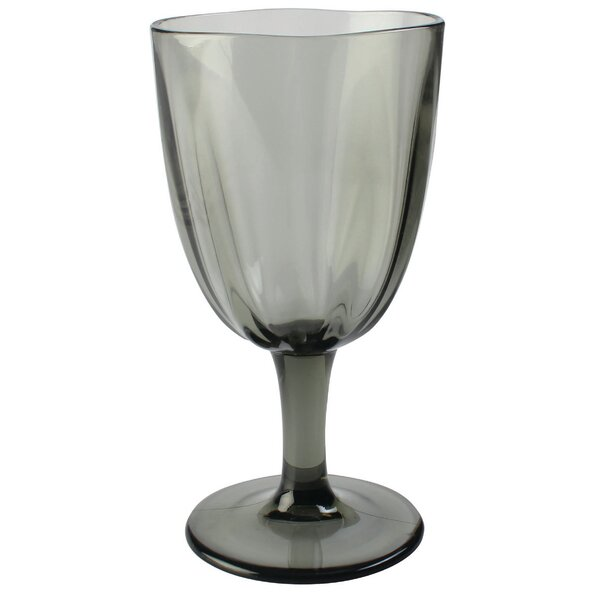 Tillson Ribbed Plastic Goblet (Set of 12) by Andover Mills