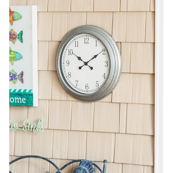 Gravenor Outdoor 18 Wall Clock by Longshore Tides