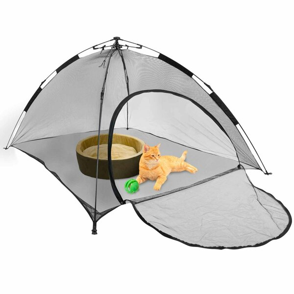Black Pet Tent by FrontPet