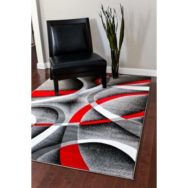 @ Cherine Modern Gray Area Rug by Orren Ellis| #$30.00!