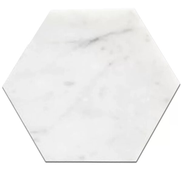 Honeycomb 8 x 8 Marble Field Tile