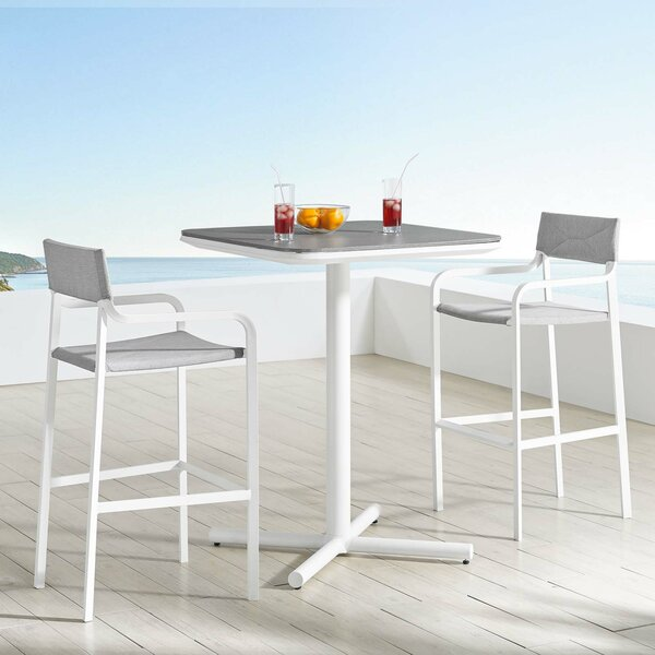 Merlene 3 Piece Bar Height Dining Set by Ivy Bronx