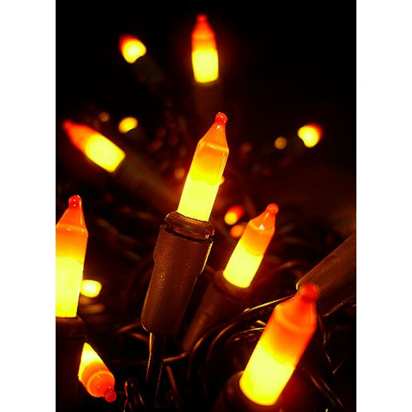 Candy Corn Mini Halloween 100 Light String Light by The Holiday Aisle