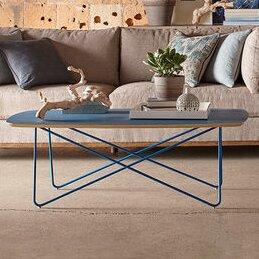 Yasmine Blue Coffee Table by Brayden Studio