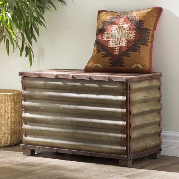 Canon City Corrugated Blanket Chest by Trent Austi
