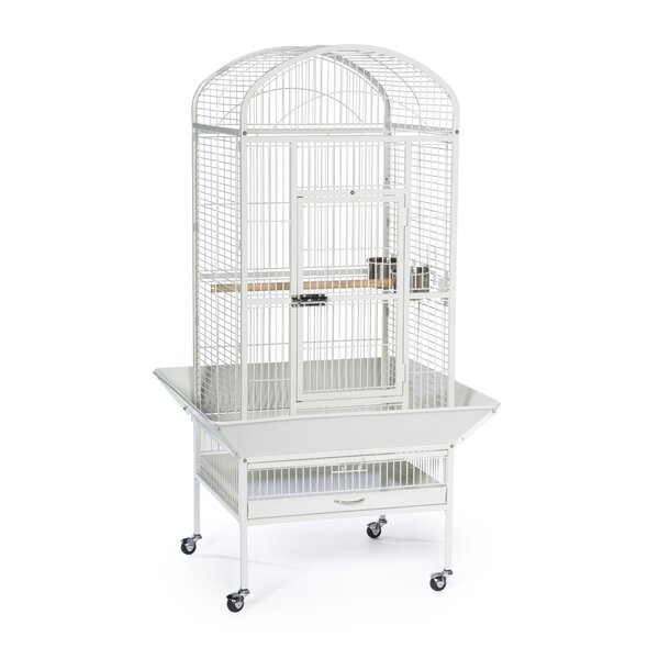 Medium Dome Top Bird Cage with Casters by Prevue Hendryx