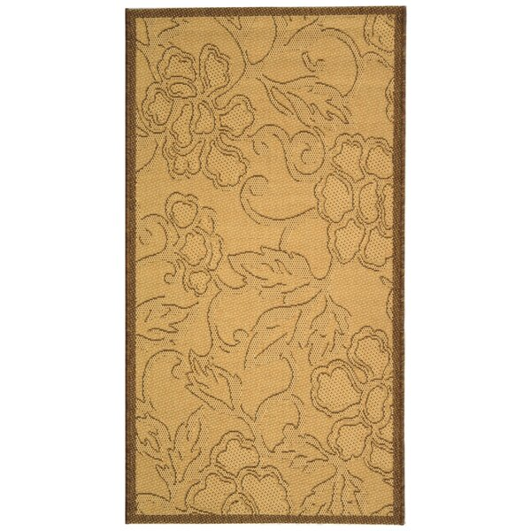 Herefordshire All Over Dark Tan Indoor/Outdoor Area Rug by Winston Porter