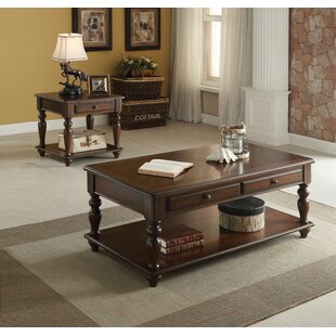 Compare prices Paloalto 2 Piece Coffee Table Set ByDarby Home Co