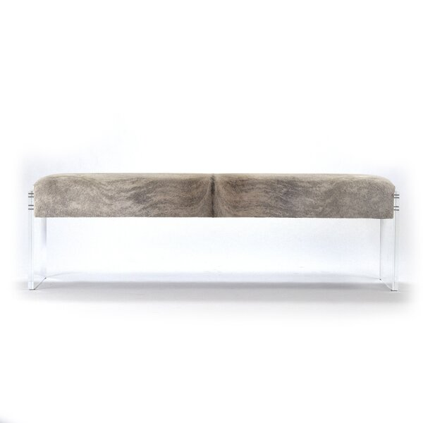 Dairy Acrylic Upholstered Bench by Foundry Select