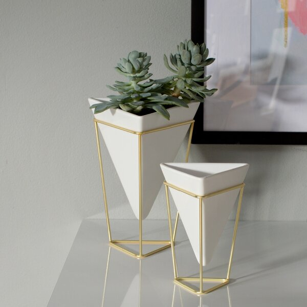 2 Piece Trigg Desk Vessel Set by Umbra