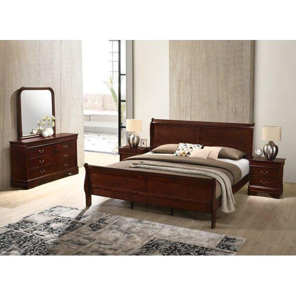 Braiden Sleigh 4 Piece Bedroom Set by Charlton Home