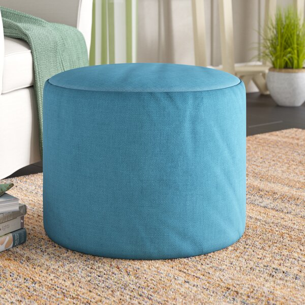 Adamstown Pouf By Beachcrest Home Herry Up