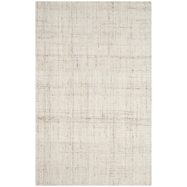 Dressler Hand-Tufted Ivory Area Rug by Wade Logan