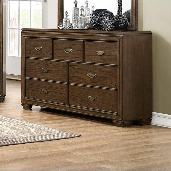 Garold 7 Drawer Double Dresser by Canora Grey