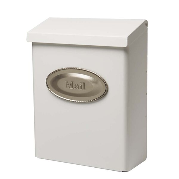 Designer Locking Wall Mounted Mailbox by Gibraltar Mailboxes