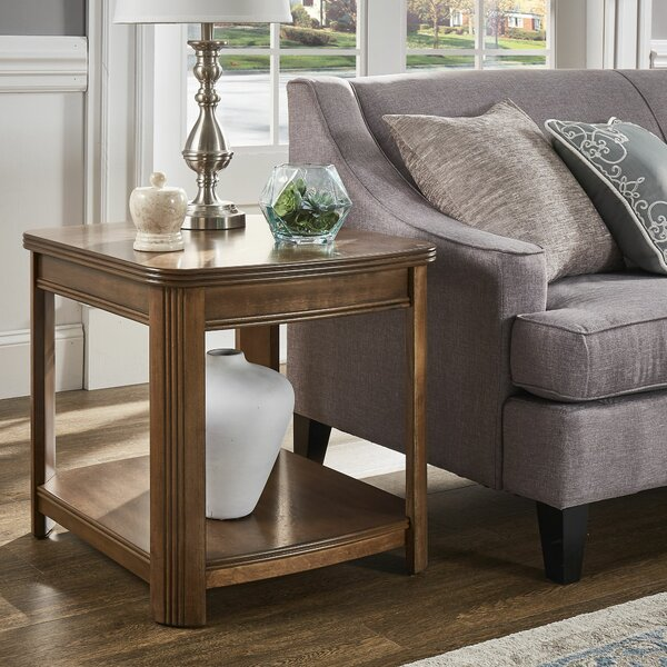 Manel End Table By Charlton Home