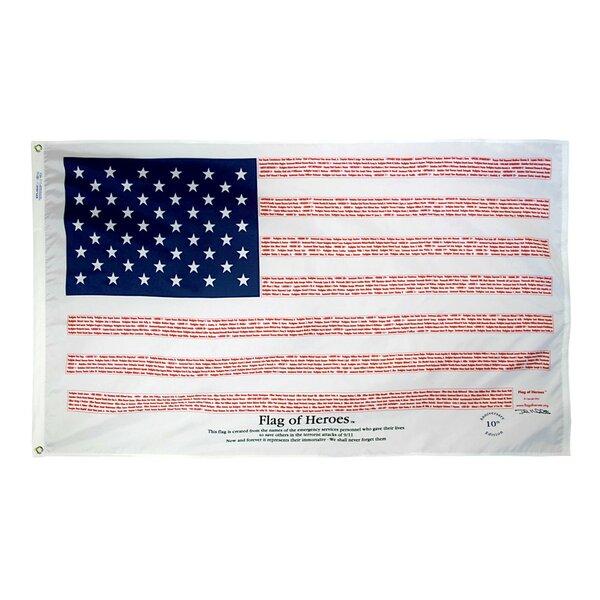 Flag of Heroes Flag by Annin Flagmakers