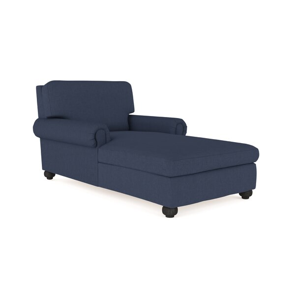 Austin Linen Chaise Lounge by Canora Grey