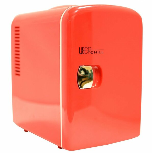0.14 Cu. Ft. Compact Refrigerator By Uber Appliance.