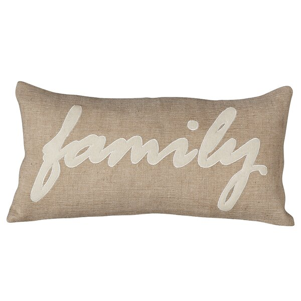 Family Pillow Cover by Birch Lane™