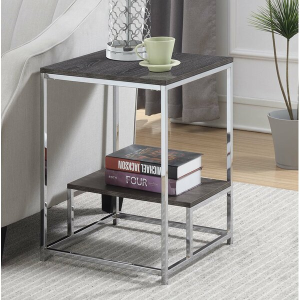 Josephina End Table by Wrought Studio