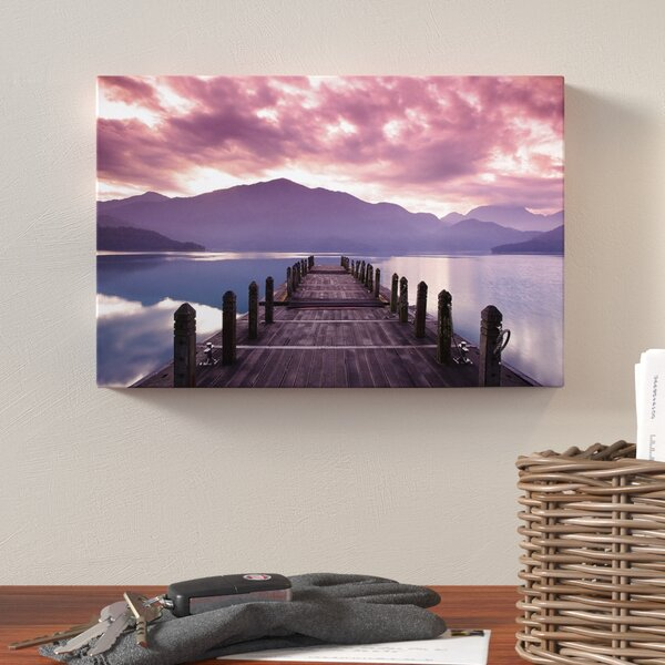 Beautiful Spring Sea at Morning Photographic Print on Wrapped Canvas by Loon Peak
