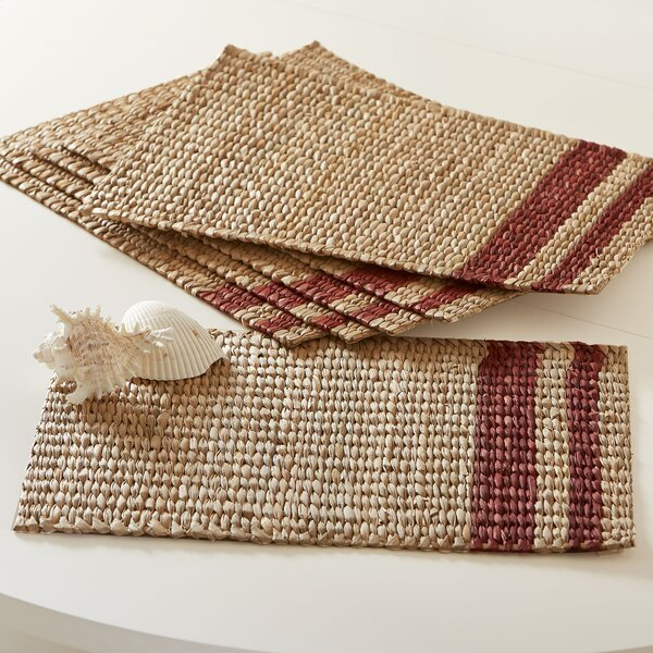 Tennile Woven Placemats (Set of 6) by Birch Lane™