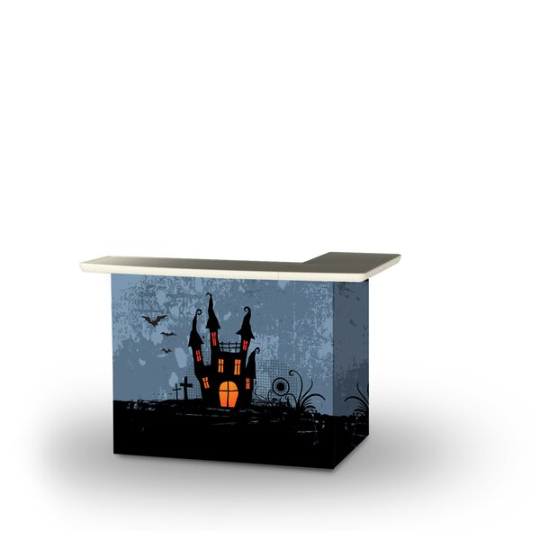 Adreana Halloween Haunted House Home Bar by East Urban Home