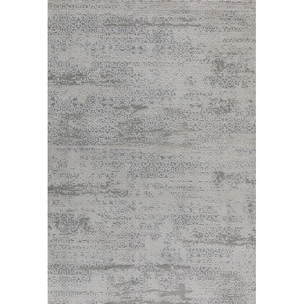 Rearick Gray/Blue Area Rug by Bloomsbury Market